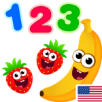 Funny Food 123! Kids Number Games for Toddlers APK MOD (Unlimited Money) 2.3.0.18