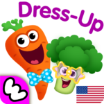 Funny Food DRESS UP games for toddlers and kids!😎 APK MOD (Unlimited Money) 1.3.0.75