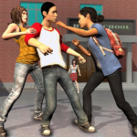 High School Bully Gangster: Karate Fighting Games APK MOD (Unlimited Money) 1.0.10