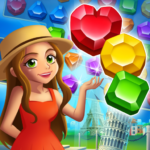 Jewel City : World Tour Match 3 Puzzle APK MOD (Unlimited Money) 1.5.1