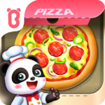 Little Panda's Space Kitchen – Kids Cooking  APK MOD (Unlimited Money) 8.55.00.00