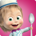 Masha and Bear: Cooking Dash APK MOD (Unlimited Money) 1.3.1