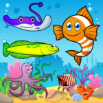 Puzzle for Toddlers Sea Fishes APK MOD (Unlimited Money) 1.0.6
