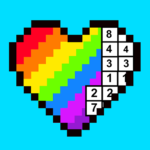 RAINBOW Color by Number – 2D & 3D Pixel Art APK MOD (Unlimited Money) 1.6.8