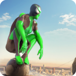 Rope Frog Ninja Hero – Strange Gangster Vegas   APK MOD (Unlimited Money) 1.5.5