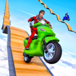Scooter Stunt Game: GT Racing Impossible Tracks APK MOD (Unlimited Money) 1.0.3