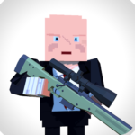 Sniper Shooter Blocky Hitman APK MOD (Unlimited Money) 1.4