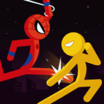 Spider Stickman Fighting – Supreme Warriors   APK MOD (Unlimited Money) 1.3.4