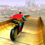 Super Hero Bike Mega Ramp APK MOD (Unlimited Money) 3.6