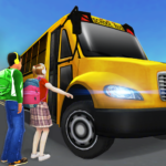 Super High School Bus Driving Simulator 3D – 2020 APK MOD (Unlimited Money) 2.2