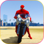 Superhero Tricky bike race (kids games) APK MOD (Unlimited Money) 1.5