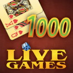 Thousand LiveGames – free online card game 1000 APK MOD (Unlimited Money) 3.86