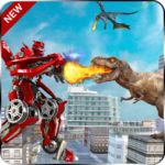 World Power Robots Dino Shoot 20- Dinosaur lite 20 APK MOD (Unlimited Money) 1.0.1