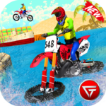 Beach Water Surfer Dirt Bike: Xtreme Racing Games APK MOD (Unlimited Money) 1.0.4