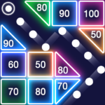 Bricks Breaker – Glow Balls APK MOD (Unlimited Money) 1.12.205