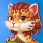Cat Heroes Color Match Puzzle Adventure Cat Game  APK MOD (Unlimited Money) 55.9.3