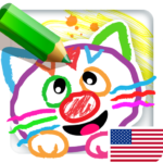 Drawing for Kids Learning Games for Toddlers age 3 APK MOD (Unlimited Money)