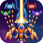 Galaxy Raid: Space shooter APK MOD (Unlimited Money) 7.1.3