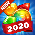 Gems & Jewels Blast 2020 New Match 3 Games No Wifi APK MOD (Unlimited Money) 2.0.2