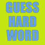 Guess Hard Word APK MOD (Unlimited Money) 0.17