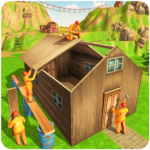 Jungle Hut Construction House- Building & Crafting APK MOD (Unlimited Money) 1.0.2