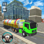 Liquid  Oil  Tanker  Transport Cargo Drive  Game APK MOD (Unlimited Money) 1.0.2