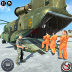 OffRoad US Army Helicopter Prisoner Transport Game APK MOD (Unlimited Money) 2.0