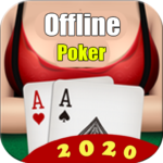 Poker Offline Free 2020 – Texas Holdem With Girl APK MOD (Unlimited Money) 1.9