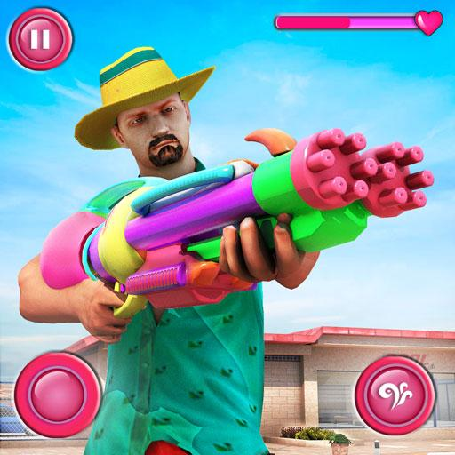 Pool Party Gunner FPS – New Shooting Game 2018 APK MOD (Unlimited Money) 1.4