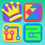 Puzzle King Puzzle Games Collection  APK MOD (Unlimited Money) 2.2.1