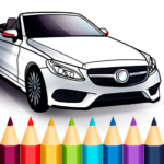 World Cars Coloring Book APK MOD (Unlimited Money) 1.17.2