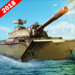 Army Tank Battle War On Water : Armoured Vehicle APK MOD (Unlimited Money) 2.2