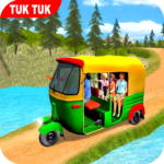 Offroad Tuk Tuk Rickshaw Driving: Tuk Tuk Games 20 APK MOD (Unlimited Money) 1.10