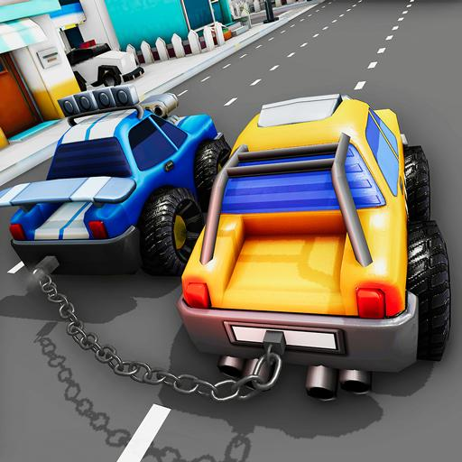 Chained Cars Impossible Stunts 3D – Car Games 2020 APK MOD (Unlimited Money) 2.9.1