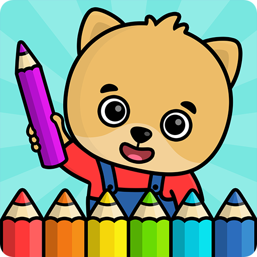 Coloring book for kids APK MOD (Unlimited Money) 1.102