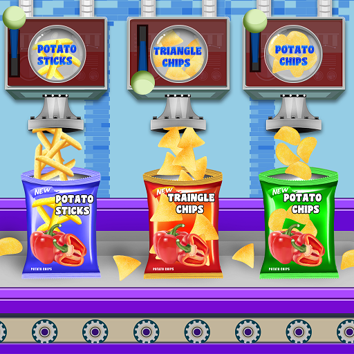 Crispy Potato Chips Factory: Snacks Maker Games APK MOD (Unlimited Money) 1.0.7