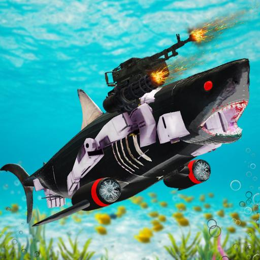 Shark Robot Transformation – Robot Shark Games APK MOD (Unlimited Money) 1.1