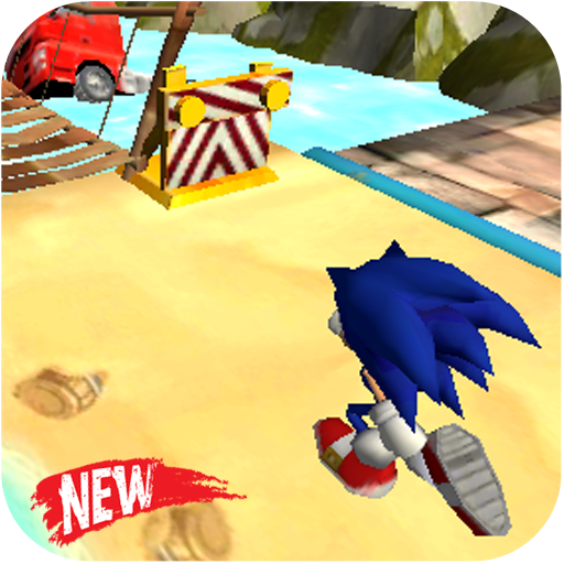 Blue Hedgehog Run : Dash Adventure APK MOD (Unlimited Money) 1.0