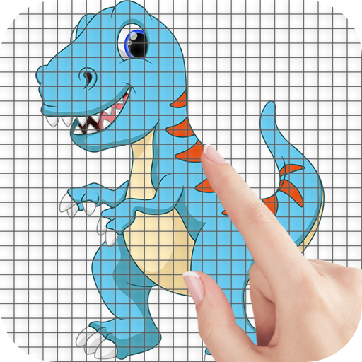 Cartoon Dinosaurs Color by Number – Pixel Art Game APK MOD (Unlimited Money) 1.1