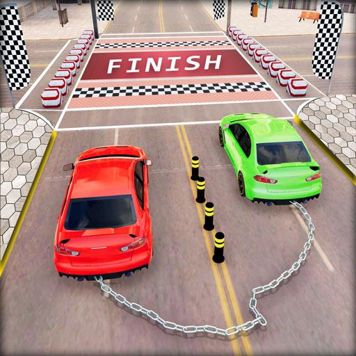 Chained Car Racing 2020: Chained Cars Stunts Games APK MOD (Unlimited Money) 1.4