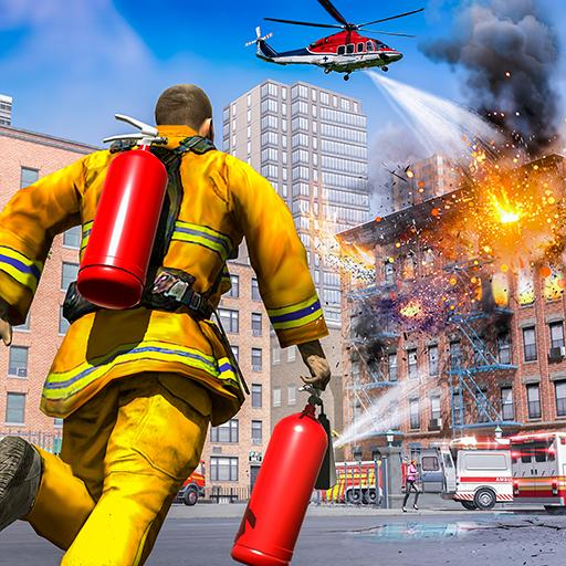 City Fire Fighter Airplane 911 Rescue Heroes APK MOD (Unlimited Money) 1.2