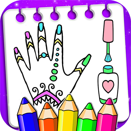Coloring Fashion Nail Salon APK MOD (Unlimited Money) 1.0.2