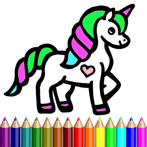 Coloring Horse Pony Hair Rainbow APK MOD (Unlimited Money) 1.0.4