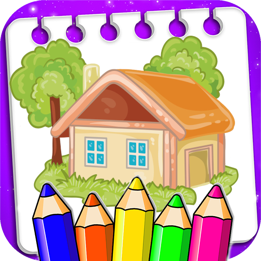 Coloring House and Palace APK MOD (Unlimited Money) 1.0.2