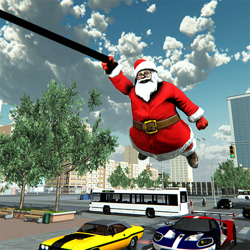 Crime City Simulator Santa Claus Rope Hero APK MOD (Unlimited Money) 2.1