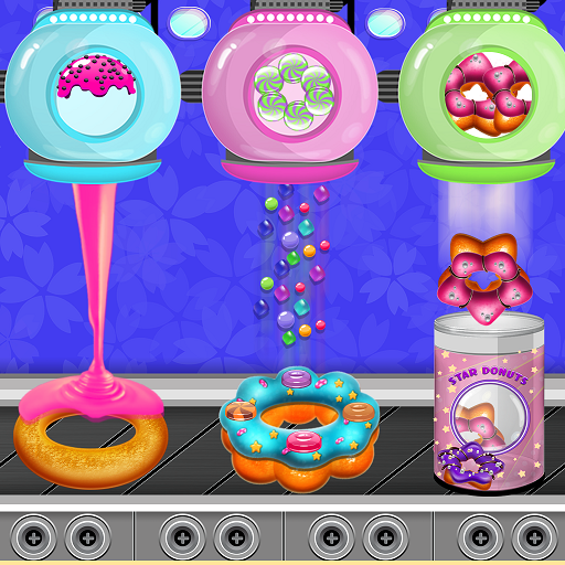 Donuts Cooking Factory: Baking Dessert in Kitchen APK MOD (Unlimited Money) 1.0.6