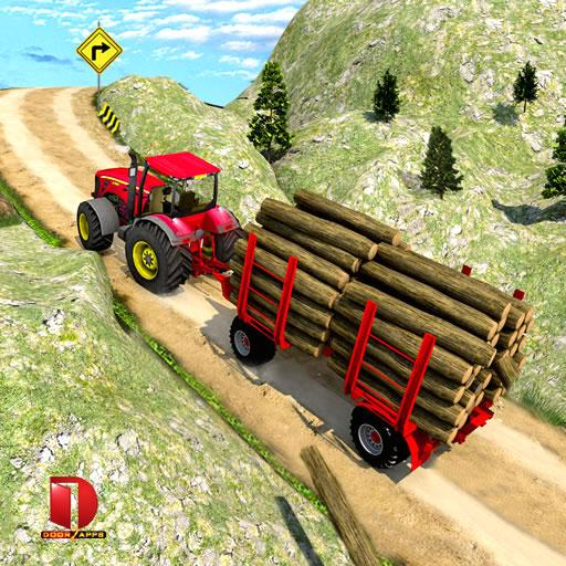 Drive Tractor trolley Offroad Cargo- Free 3D Games APK MOD (Unlimited Money) 2.0.26