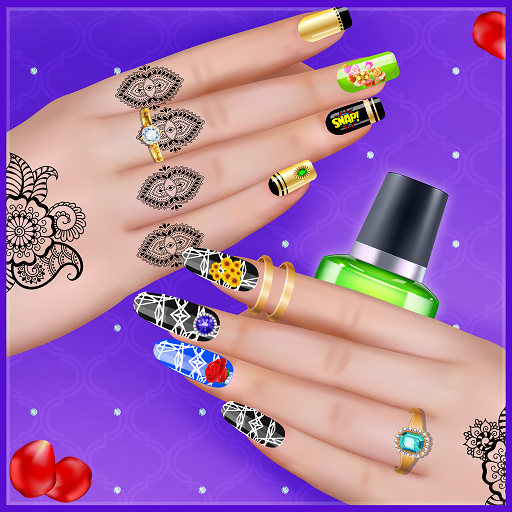 Girly Nail Art Salon: Manicure Games For Girls APK MOD (Unlimited Money) 1.0.2