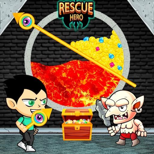 Hero Rescue – How to Loot – Pull Pin APK MOD (Unlimited Money) 1.8