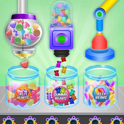 Jelly Candy Factory: Gumball & Lollipop Maker Chef APK MOD (Unlimited Money) 1.4